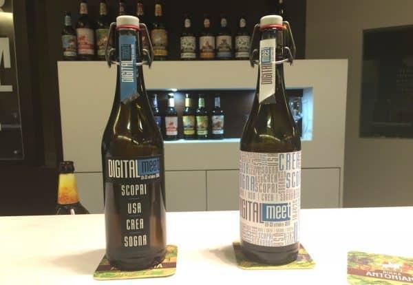 Dalla collaborazione tra Birra Antoniana e DIGITALmeet è nata la prima Digital Beer. Adesso però l'etichetta la scegliete voi.